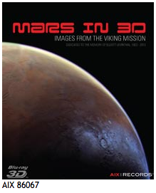 Image of new Mars in 3-D on Blu-ray available at AIX
