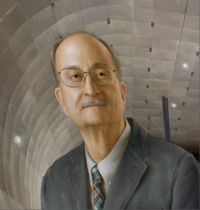 Portrait detail of Wayne Johnson, named Ames Fellow